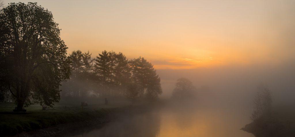 Ruhr im Nebel